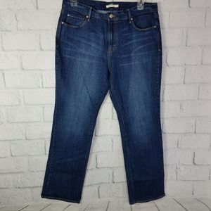 Levi's Women's Size 16 505 Straight Leg Jeans